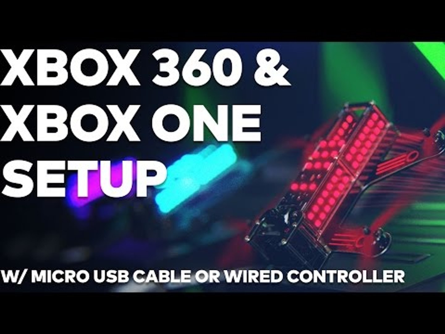 How to set up your Xbox One and Xbox 360 | Drone Racing League FPV Simulator