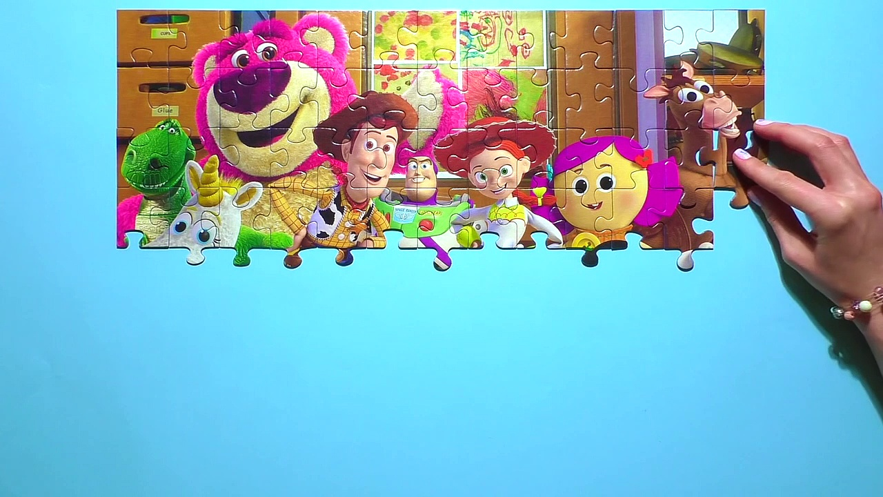 Learn Puzzle TOY STORY Potato Heeg24g4