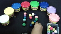 Colorful Play Doh Numbers ► Learn Counting Real Numbers ► Count 11-20 by Kids Toys and Cra