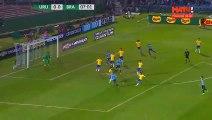 But Cavani Penalty Uruguay 1-0 Brésil Goal HD - 24.03.2017
