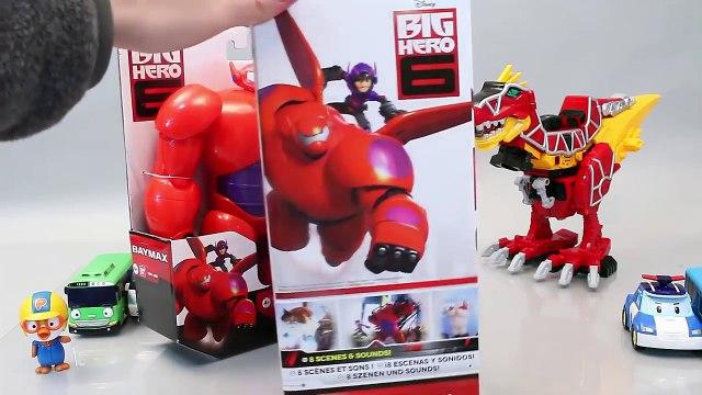 빅히어로6 베이맥스 아머업 타요 뽀로로 폴리 장난감 Disney Big Hero 6 Baymax Toys