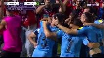 Buts Uruguay vs Brésil résumé vidéo (1-4) - 23.03.2017 HD