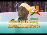 CONFERENCE SOPEY SERIGNE BABACAR SY DERKELE