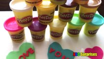 Creative Kids Crafts Diy Playdoh Valentines Day Card Heart Candy Box Of Chocolates Abc Sur
