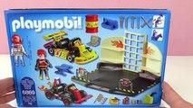PLAYMOBIL MOTORRAD WERKSTATT Deutsch - Mit Hebebühne - Spiel mit mir Kinderspielzeug Playm