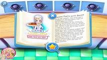 Elsas Restaurant: Penne Pasta With Beans: Disney princess Frozen - Best Games For Girls