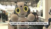 Au CEBIT de Hanovre, le virtuel devient réel
