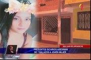 Presuntos sicarios asesinan a balazos a joven en San Juan de Lurigancho