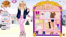 Barbie dress up games: Barbie Winter Prom Vs Glitter Trends