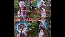 SELL INDIAN HEADDRESS,INDIAN HAT, WARBONNET, HEADPIECE, TOPI INDIAN, TOPI BULU, AKSESORIS INDIAN