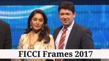 Madhuri Dixit Nene & Dr. ShriRam Nene At FICCI Frames 2017
