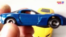 Rastar RC RANGE ROVER, Tomica Chevrolet Corvette Toy Car | Kids Cars Toys Videos HD Colle