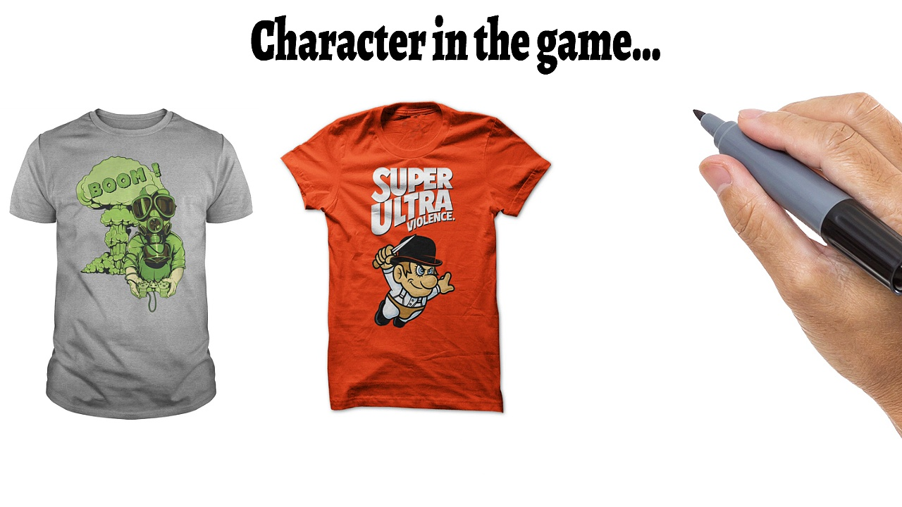 T Shirts For Gamers – Cool Gaming Mens T-Shirt Designs!