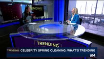 TRENDING | Celebrity spring cleaning: what's trending | Thursday, March 23rd 2017