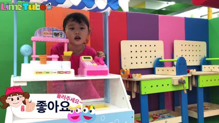 Dad has stomachache! Little Bus Tayo Pororo Icecream Store Syringe Hospital LimeTube&Toy 라임 아빠가 배탈이 났어요! 병원놀이