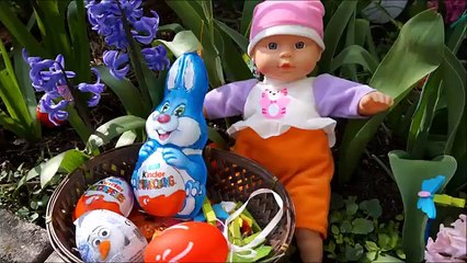 Baby alive real surprise eggs dolls - Easter hunt & unboxing