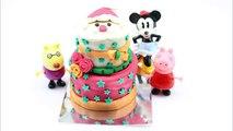 День рождения кекс день рождения де де по из доч тесто Пеппа свинья играть Комплект пирог торт пластил день рождения