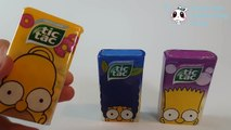 New Tic Tac The Simpsons Candy Collection - Homer Marge & Bart