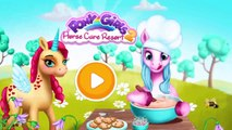 Little Pony Care Fun Kids Games - Cute Pony Doctor, Colors, Dress up, Bath - Fun for Kids