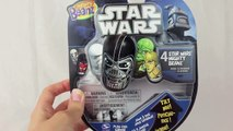 Disney Cars Star Wars Darth Mater with Mighty Beanz Storm Trooper and Luke Skywalker