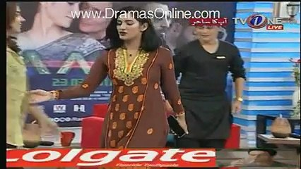 See What Mathira Said to Sahir Lodhi in a Live Show