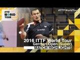 German Open 2016 Highlights: FEGERL Stefan vs NIWA Koki (R32)