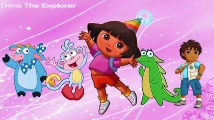 Dora Finger Family Nursery Rhyme for Children
