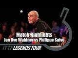 Legends Tour 2016 Highlights: Jan Ove Waldner vs Philippe Saive