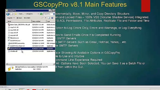 GSCopyPro v8 1 (The Robocopy Replacement and best alternative)