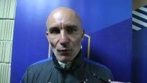 Foot - Amical U20 - Bleuets : Batelli «Plus le même match à partir de l'expulsion»