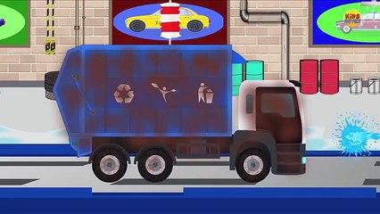 Мусор грузовая машина автомобиль мыть транспортных средств для Дети