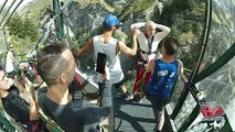 Justin Bieber Does A Backwards Dive Off Terrifyingly High Bungee Jump In New Zealand -- Insane Video