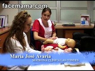Masaje en el Abdomen para el Bebé Facemama.com