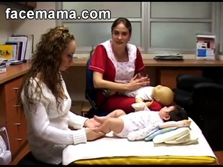 Masaje en las Piernas para el Bebé Facemama.com