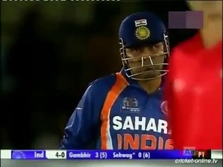 Mohammad Amir Great Spell of Fast Bowling to Sehwag - Asia Cup 2012_2