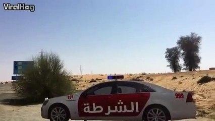 La police de Dubaï est au top... Ahaha