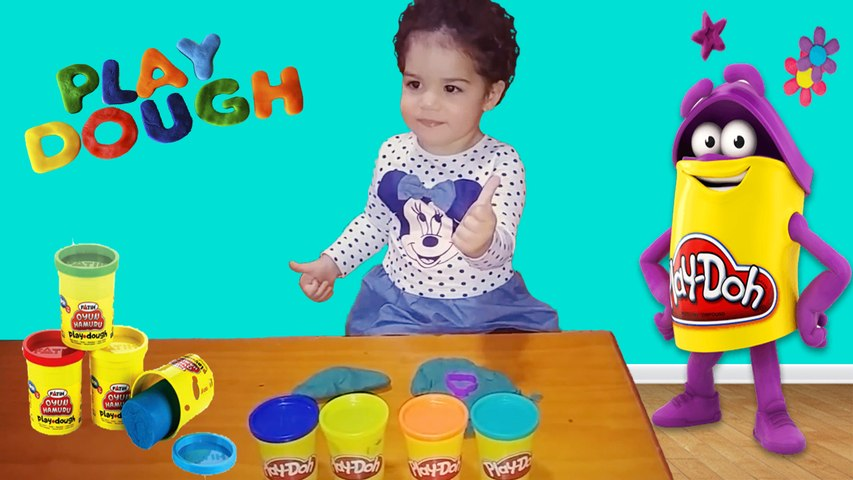 Jugando con plastilina Play Doh | Playing with Play Doh | Diario de Gabri y Eli