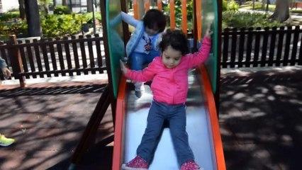 Jugando en el parque Part.2 | Playing in the park Part.2 | Diario de Gabri y Eli
