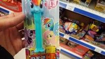 My Little Pony MLP Pez Candy Dispenser & 3 MLP FashEms Pinkie Pie Twilight Sparkle Rainbow