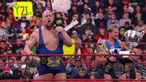 Unified Tag Team Champions Chris Jericho and Big Show