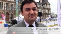 CM 2017. Interviews de Jean-François Martins au Paris Hockey Tour