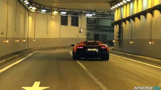 Supercars Go CRAZY in a Tunnel!!