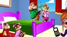 Hulk auf Deutsch Fünf kleinen Affen sprangen auf ihrm Bett Kinderlied - Kinderlieder auf