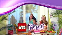 Lego Friends - Le bar à smoothie de Heartlake City 41035 & La villa sur la plage 41037
