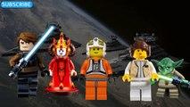 DADDY FINGER SONG Star Wars The Force Awakens Funko Toys Yoda Darth Vader Luke Skywalker