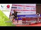 2015 Men's World Cup Highlights: ASSAR Omar vs TSUBOI Gustavo (Qual. Groups)