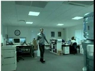 Boule de papier au bureau