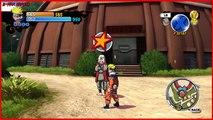 Naruto: Rise of a Ninja (Xbox 360) Playthrough - 19 - NARUTO VS NEJI & GAARA