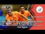 2015 Chile Open FULL MATCH: Ricardo/Mario vs FERNANDEZ Marcelo/ROMAN Sebastian (Qual. Groups)