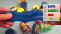 Learn colours with ooze and glitter putty fun learning contest Lession 5